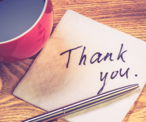 Patients are more likely to give you a positive review after they have either given you a compliment or thanked you for your service