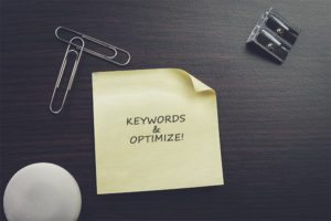 Optimize your site with keywords and make sure to optimize!